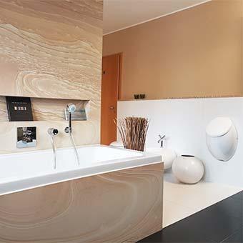 Salle de bain showroom