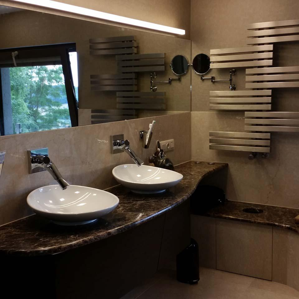 Projet Salle de bain à Senningerberg